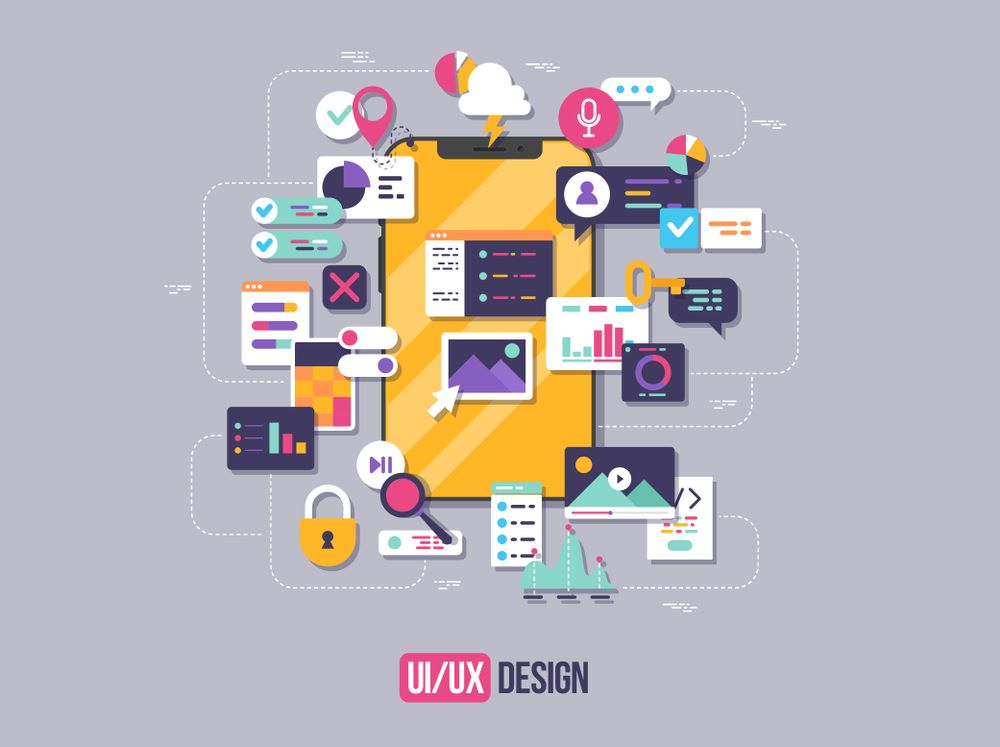 mobile application UIUX design