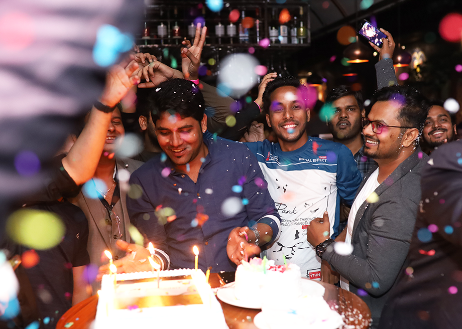 MobileCoderz Cake Cutting Ceremony at Tito's 2019
