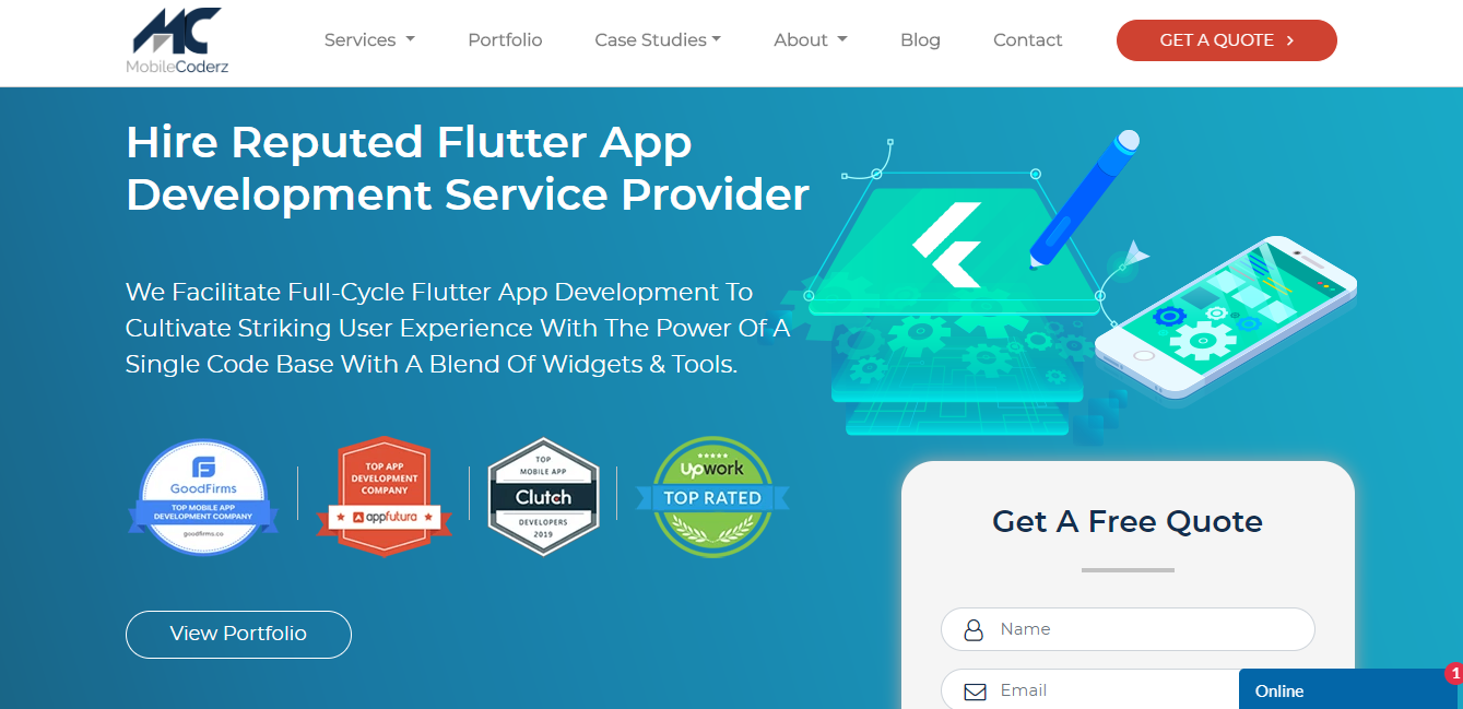 MobileCoderz -Top 10 Flutter App Development Companies in Singapore