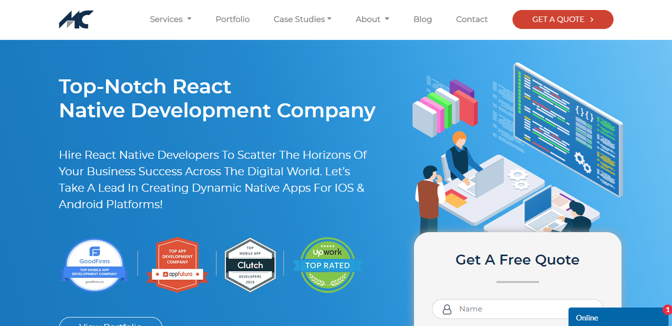 mobilecoderz-top-react-native-app-development-company