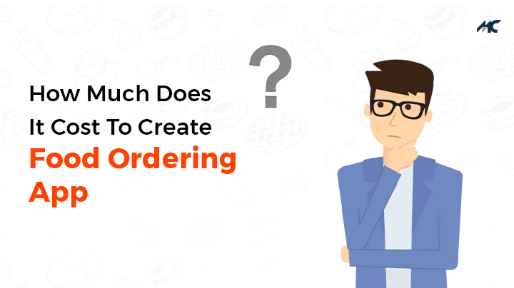 how much does it cost to create food ordering apps