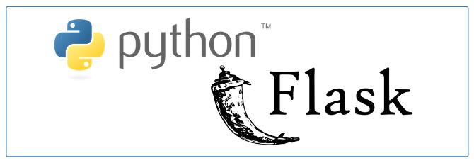 python flask web development framework