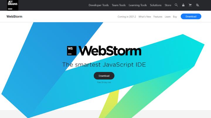 webstrom Full-Stack Web Development tools