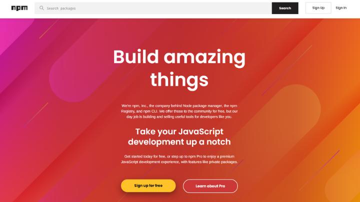 npn Full Stack Web Development Tool