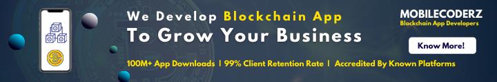 blockchain app development company mobilecoderz