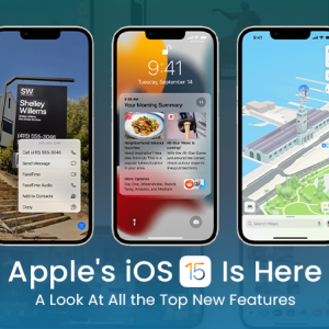 Apple iOS 15 Features—A Look At All the Top New ...