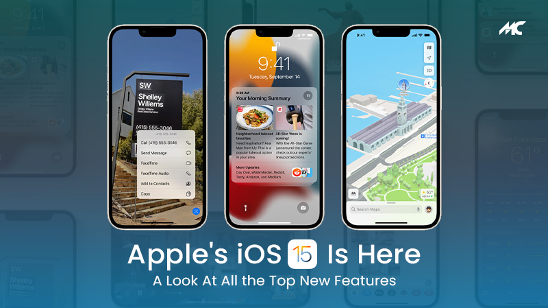 Apple iOS 15 Features—A Look At All the Top New Features