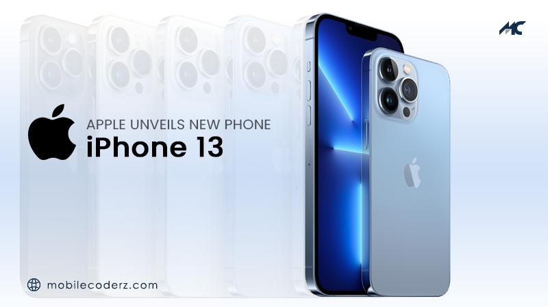 APPLE UNVEILS NEW PHONE: iPhone 13