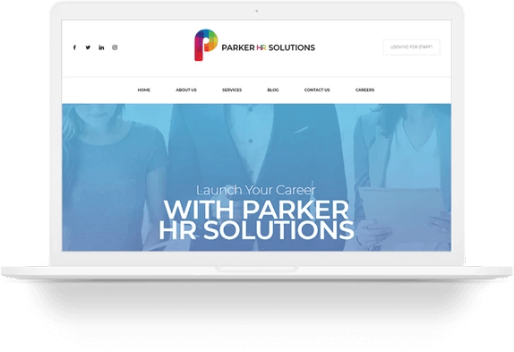 Parker HR solutions Website