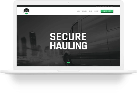 Secure Hauling Website