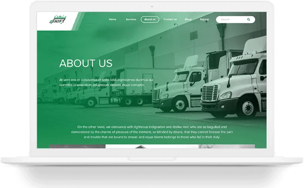 Shift Website